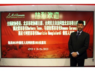 Il Sindaco di Senigallia Mangialardi in Cina