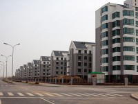 Un quartiere di Ordos (Cina) pronto all'uso
