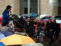 Michele Serra sul palco di Caterpillar del 28 giugno