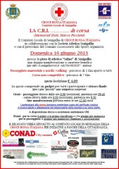 """Volantino """"La C.R.I… di corsa"""" edizione 2013"""