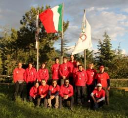 Gli arcieri Assta Senigallia impegnati nel campionato italiano