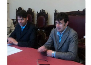 Maurizio Mangialardi e Paolo Mirti
