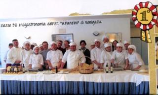 L'istituto A.Panzini di Senigallia vincitore del primo concorso sulla biodiversità in cucina