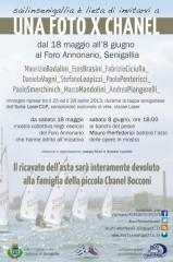 """""""Una foto per Chanel"""" al Foro Annonario di Senigallia"""