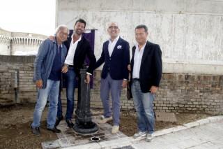 La fontanella donata dal Lions Club di Senigallia