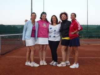 Finaliste nel doppio femminile al torneo di tennis di Ponte Rio