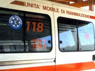 118, ambulanza