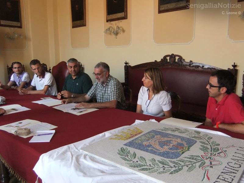 La presentazione del 1° labirinto di mais a Senigallia