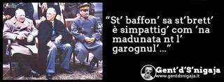 Gent'd'S'nigaja - Churchill, Roosevelt, Stalin