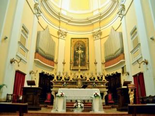 Interno Chiesa di San Francesco a Corinaldo