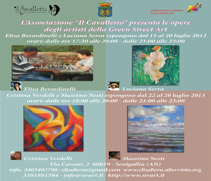 "Mostra di pittura dell'Associazione ""Green street art"""