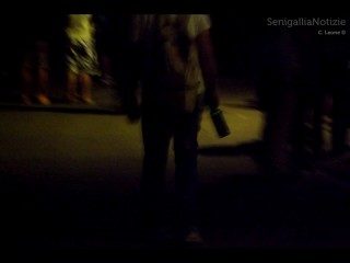 Giovani e alcol per le strade di Senigallia