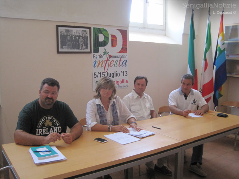 Enzo Monachesi, Ilaria Ramazzotti, Adriano Brucchini, Carlo Girolametti