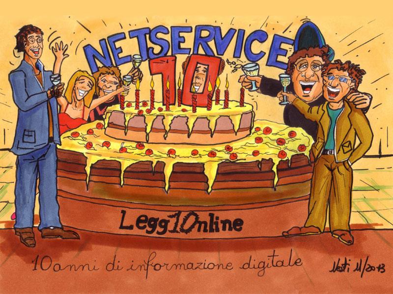 Il compleanno di SenigalliaNotizie.it disegnato e immaginato da Massimo Nesti