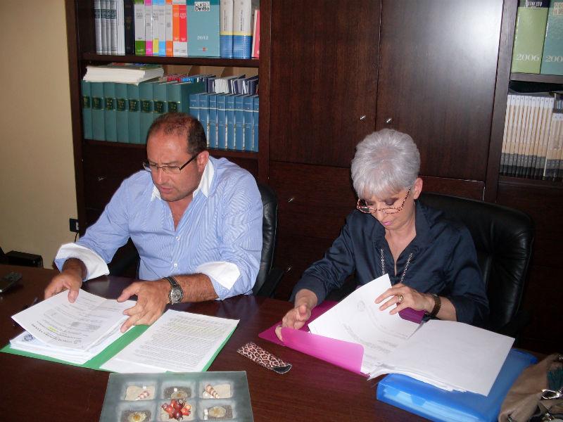 Roberto Paradisi e Carla Coppa