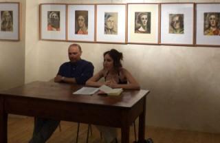 La presentazione del libro di Marco Severini alla Biblioteca Comunale di Corinaldo