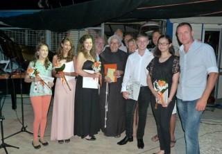 L'Istituto Magnificat di Gerusalemme al termine del concerto a Marotta