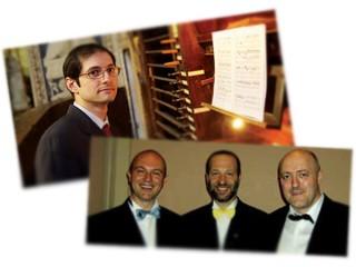 Alcuni interpreti del Festival Organistico: Giulio Piovani e i Phonurgia Nova