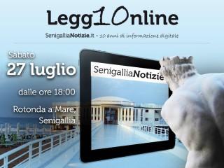 """""""Legg10nline"""", l'iniziativa di sabato 27 luglio 2013 per i dieci anni di SenigalliaNotizie.it"""