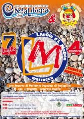 Locandina del Lancio d'l madòn 2013, a Marzocca di Senigallia