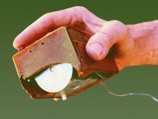 Il primo mouse per pc ideato negli anni '60 da Douglas Engelbart