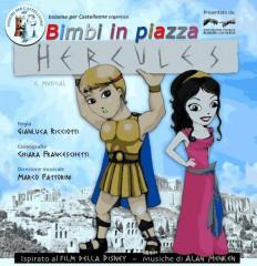 """""""Hercules"""", musical per bambini a Castelleone di Suasa il 21 luglio"""