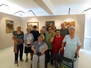 Anziani in visita al Museo Nori de' Nobili