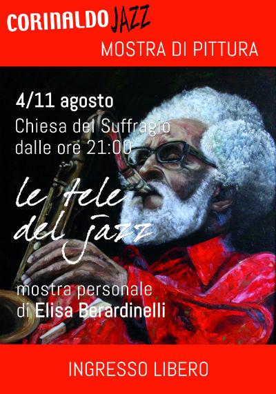Manifesto mostra di Elisa Berardinelli a Corinaldo