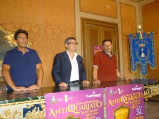 Presentazione ad Ostra della Mostra dell'artigianato e dell'antiquariato artistico