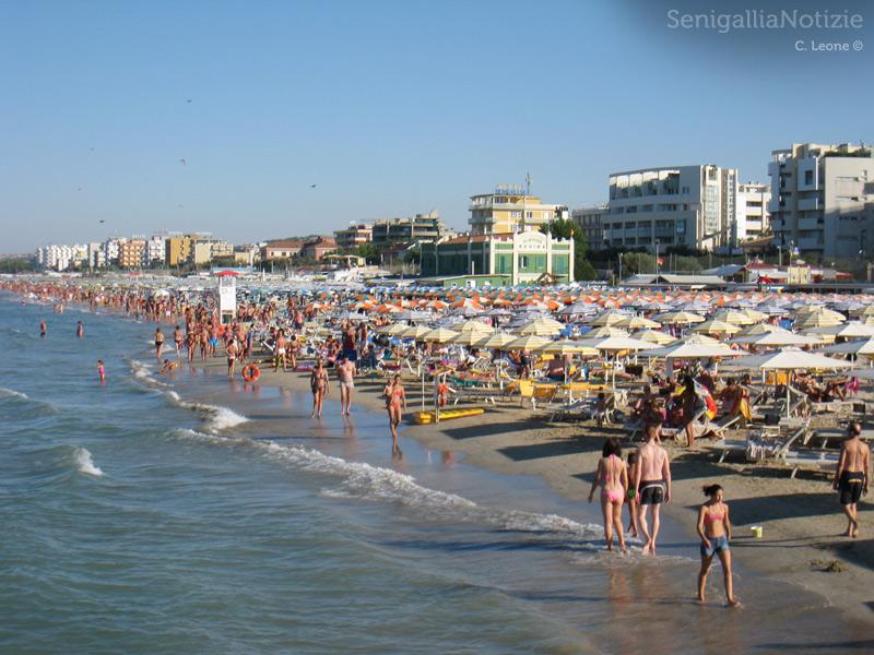 L'estate al mare di Senigallia, spiaggia di velluto