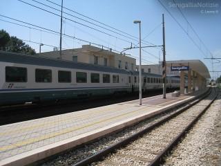 La Stazione ferroviaria di Senigallia, FS, treni, treno, Trenitalia