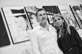 Simone Pegoli e la moglie Patrizia Gresta