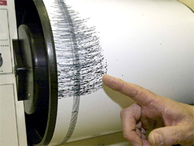 Un sismografo in azione