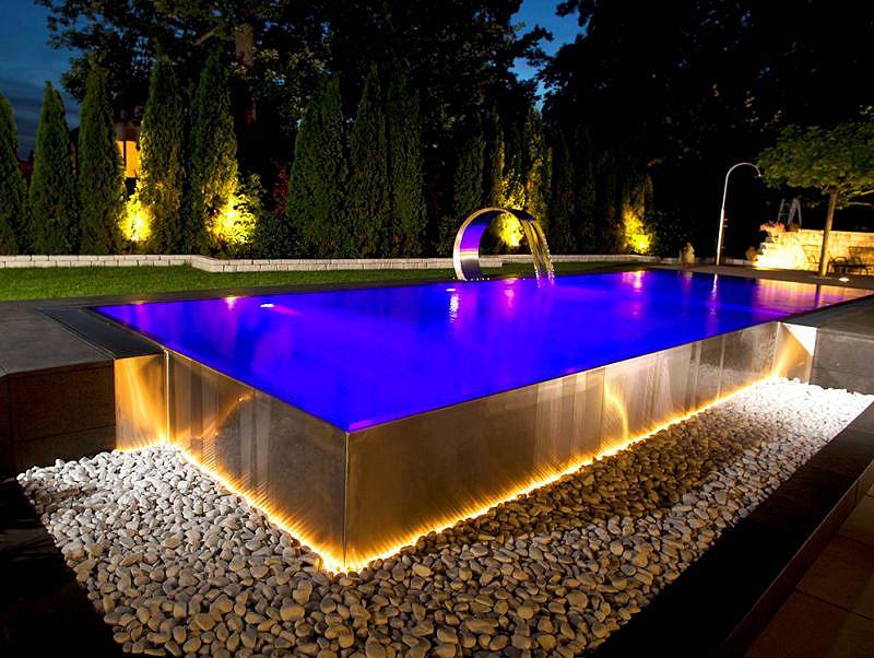 Piscine di acqua design di senigallia senigallia notizie for Piscine architecture