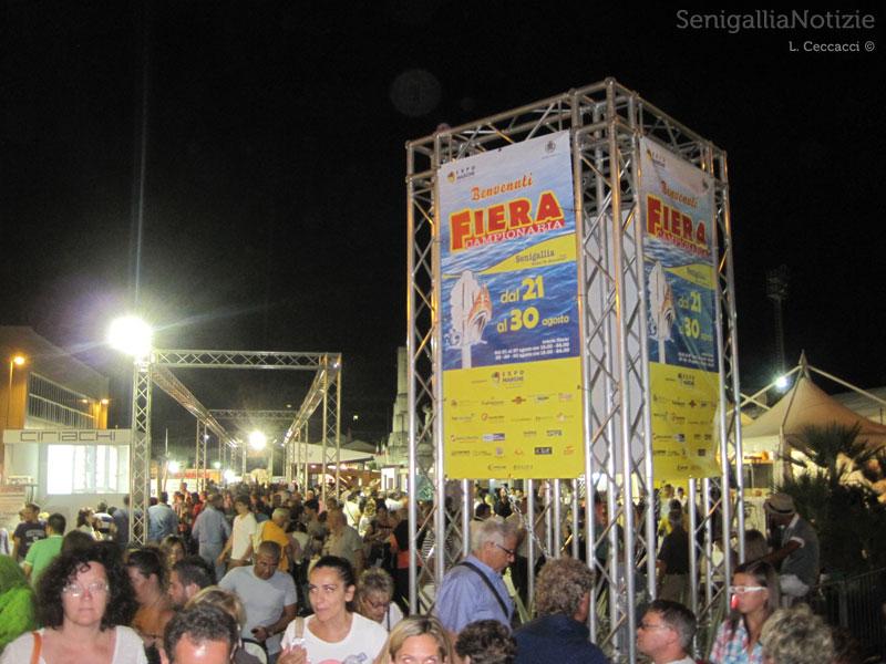 L'ingresso della Fiera Campionaria 2013 a Senigallia