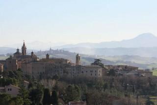 Panorama di Corinaldo - foto di Luciano Galeotti