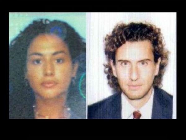 Lucia Bellucci a sinistra e Vittorio Ciccolini a destra