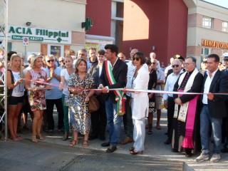 Taglio del nastro a Senigallia della 23esima Fiera Campionaria di Sant'Agostino