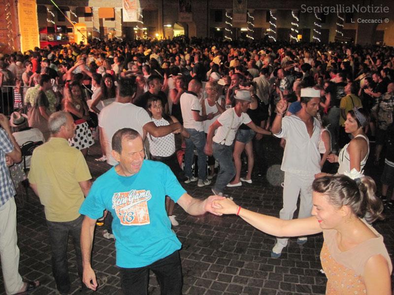 Balli in piazza al Summer Jamboree 2013