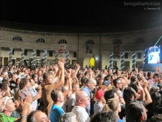 Il pubblico applaude entusiasta durante i concerti del Summer Jamboree 2013