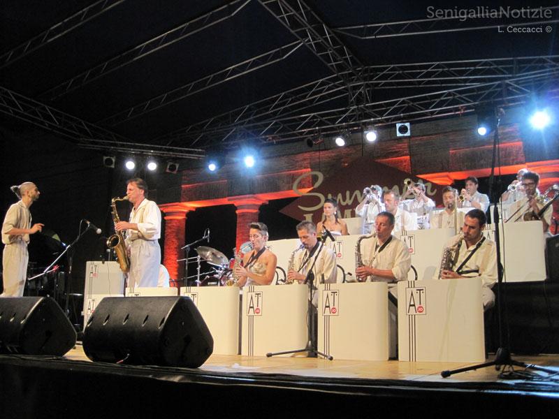 La Abbey Town Jump Orchestra al Summer Jamboree 2013
