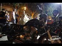 Il popolo del Summer Jamboree a Senigallia con le loro motociclette