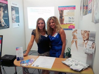 Laura Gagliardini e Sofia Borelli alla Fiera Campionaria 2013