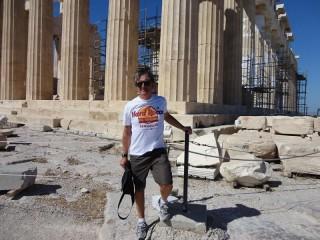 Gent'd'S'nigaja al Partenone di Atene