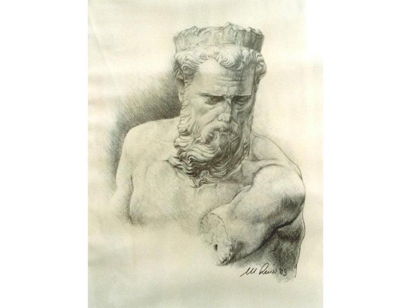Il Monc'in piazza - Disegno di Massimo Renzi
