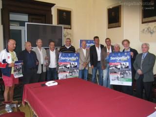 Presentazione in municipio della Fotostoria della settimana motoristica senigalliese