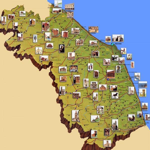 Marche Cartina Italia.Turismo Marche In Controtendenza Rispetto Al Resto D Italia Senigallia Notizie