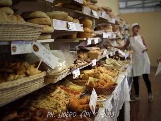 Pane Nostrum - Stand della vendita del pane