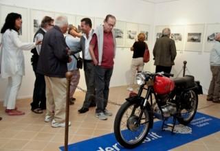 Inaugurazione mostra sul circuito motoristico di Senigallia