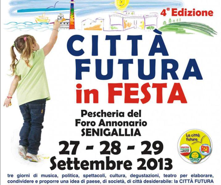 """""""Città Futura in festa"""", manifesto evento"""